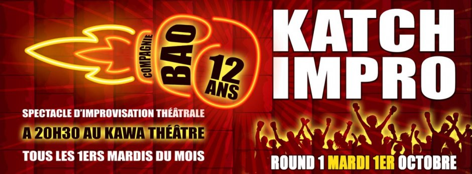 ROUND 1 * KATCH IMPRO * 1 OCTOBRE 2019