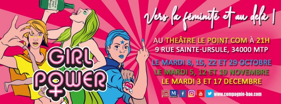 GIRL POWER ! LA NOUVELLE COMÉDIE DU BAO
